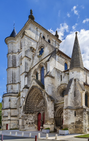 Saint Etienne Church represents a harmonious transition from the Romanesque to the Flamboyant Gothic style, Beauvais, France