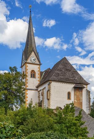 Saints Primus and Felician Church in Maria Worth, Carinthia, Austria