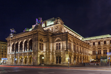 Vienna State Opera is an opera house – and opera company – with a history dating back to the mid-19th century. Evening 에디토리얼