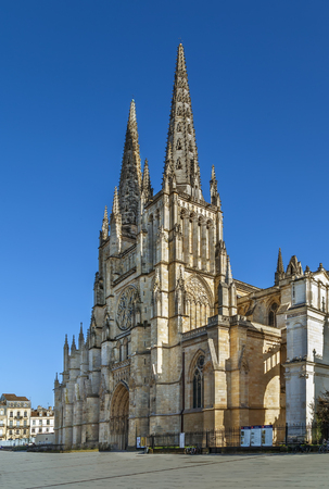 Cathedral of Saint Andrew commonly known as Bordeaux Cathedral, is a Roman Catholic church in Bordeaux, France 報道画像