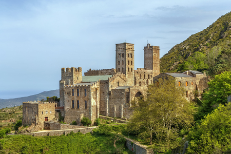 Sant Pere de Rodes is a former Benedictine monastery in the North East of Catalonia, Spain.