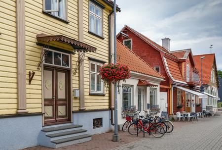 Street in Parnu city center, Estonia