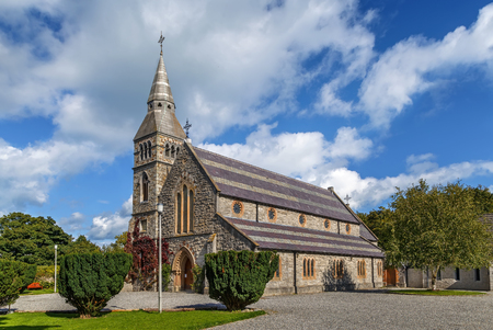 St. Mary's Anglican Church in Howth, Ireland Stock Photo