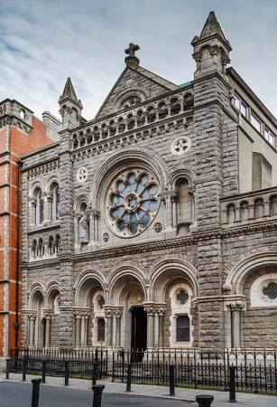 Saint Teresa's Church discalced carmelites in Dublin, Ireland Stock Photo