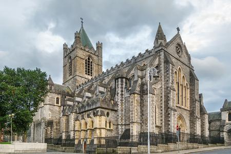 La cathédrale Christ Church, plus formellement la cathédrale de la Sainte Trinité, est la cathédrale de Dublin, Irlande