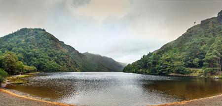 Glendalough Upper Lake is a glacial lake near Glendalough, County Wicklow, Ireland.