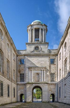 Building of The Honorable Society of Kings Inns, Dublin, Ireland
