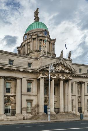 Custom House is a neoclassical 18th century building in Dublin, Ireland
