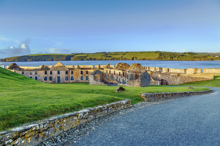 Charles Fort is a trace italien fortification, a bastion fort in Kinsale, Ireland