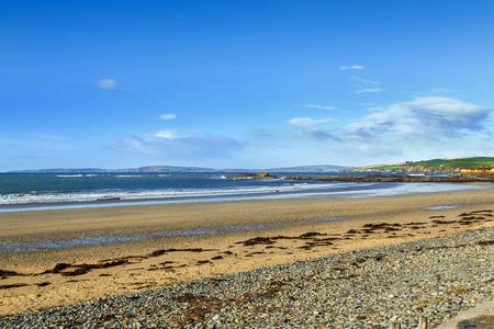 Garylucas Beach  is a white sandy beach located at the Old Head of Kinsale in County Cork, Ireland. Autumn