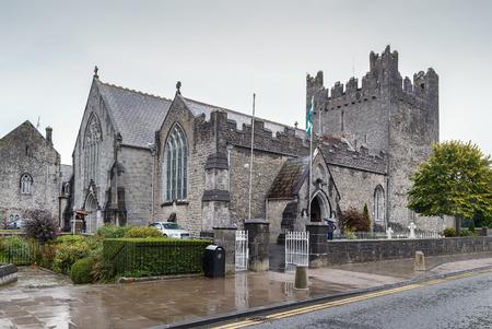 Holy Trinity Abbey Church in Adare, County Limerick, Ireland Фото со стока