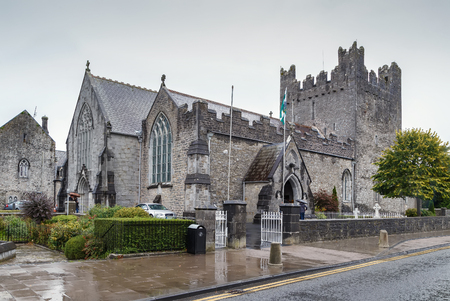 Holy Trinity Abbey Church in Adare, County Limerick, Ireland Archivio Fotografico