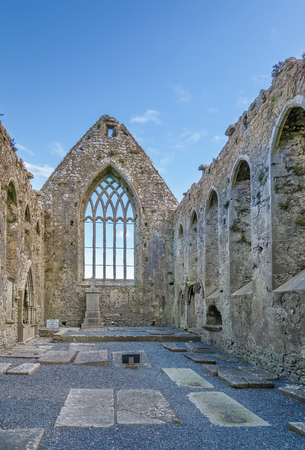 Claregalway Friary is a medieval Franciscan abbey located in the town of Claregalway, County Galway, Ireland.