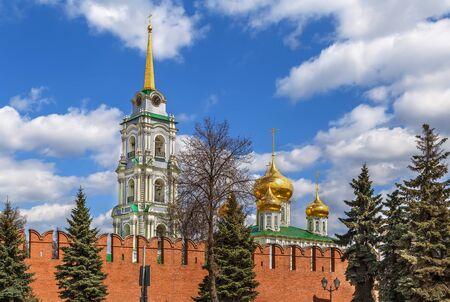 View of Tula Kremlin in spring, Russia Imagens
