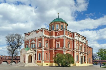 Epiphany Cathedral in the Tula Kremlin, Russia Stock Photo