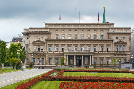 Old Palace was the royal residence of the Obrenovic dynasty. Today it houses the City Assembly of Belgrade, Serbia