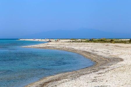 Possidi Cape beach on Kassandra peninsula, Chalkidiki, Greece Stock Photo