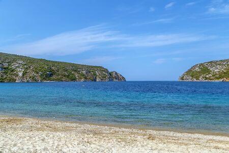 Porto Koufo beach on Sithonian peninsula, Chalkidiki, Greece