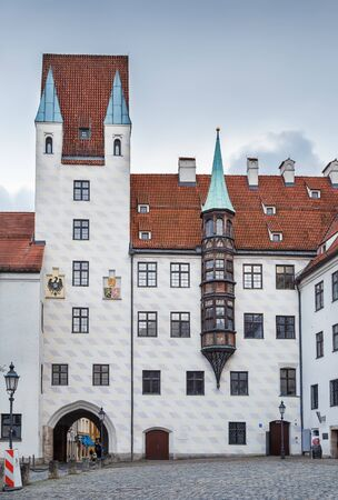 Alter Hof (Old Court) is the former imperial residence of Louis IV, Holy Roman Emperor, Munish, Germany