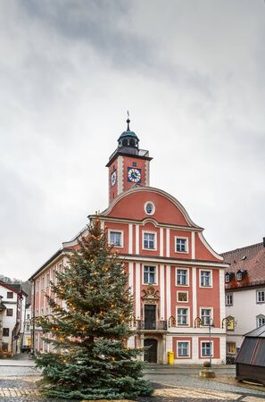 Eichstatt Town Hall on the Market Square, Germany