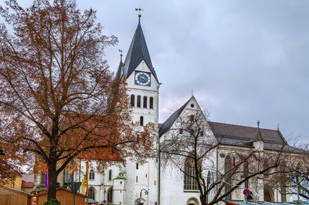 Eichstatt Cathedral, properly known as the Cathedral Church of the Blessed Virgin Mary, St. Willibald and St. Salvator is an 11th-Century Roman Catholic cathedral in Eichstatt, Bavaria, Germany