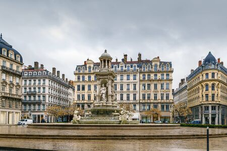 Place des Jacobins is a square located in Lyon downtown, France