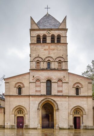 Basilica of Saint-Martin dAinay is a Romanesque church in the historic centre of Lyon, France