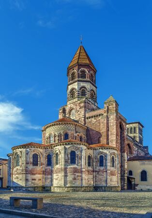 Basilica Saint Julien is a basilica in style Romanesque Auvergnat located in Brioude, France
