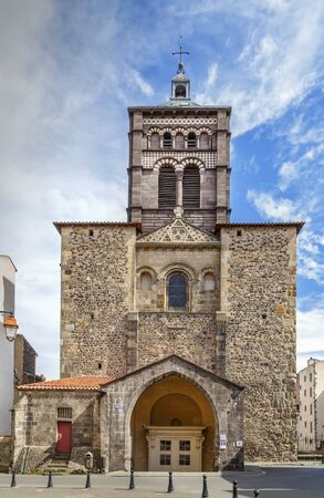 Basilica of Notre-Dame du Port is a Romanesque basilica, formerly a collegiate church in Clermont-Ferrand, France
