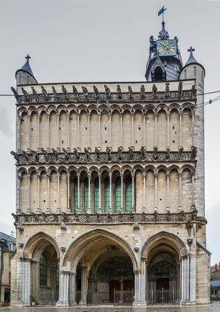 Church of Notre-Dame of Dijon is a Roman Catholic church in Dijon. view from facade