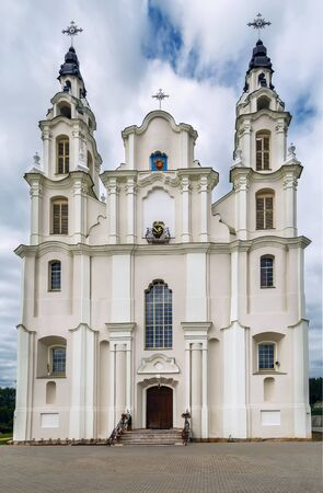 Roman Catholic Church of Michael Archangel in Ivyanets town, Belarus