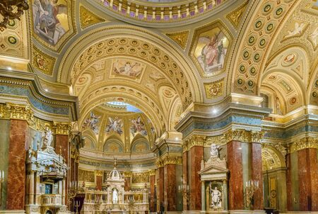 St. Stephen's Basilica is a Roman Catholic basilica in Budapest, Hungary. Interior