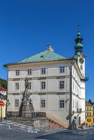 Town hall in Banska Stiavnica old town, Slovakia Reklamní fotografie