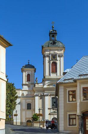 Church of the Assumption of the Virgin Mary in Banska Stiavnica, Slovakia