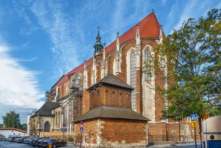 Church of St Catherine of Alexandria and St Margaret is one of the biggest Gothic buildings in, Krakow, Poland