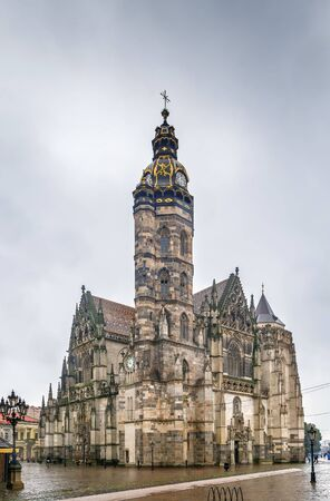 Cathedral of St Elisabeth is a Gothic cathedral in Kosice, Slovakia