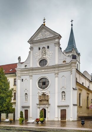 St. Anthony of Padua Church is a Baroque-style, originally Gothic church from the 14th century in Kosice, Slovakia