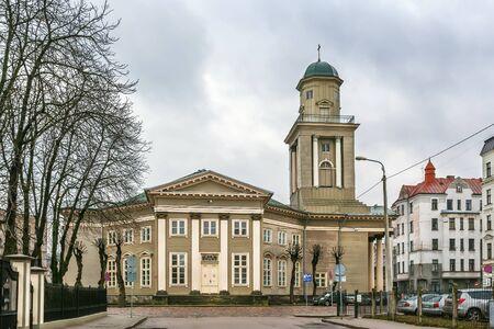 Church of Jesus is a Lutheran church in Riga, Latvia Stock Photo