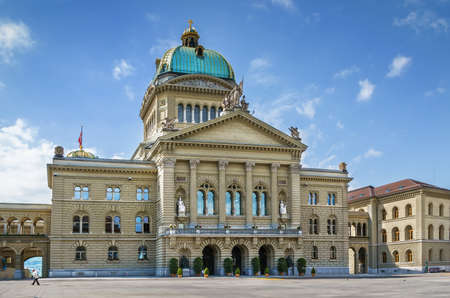The Federal Palace is the name of the building in Bern in which the Swiss Federal Assembly and the Federal Council are housed, Swizerland