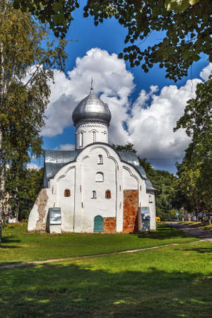 Church of St Vlasii is situated in the Centre of the Veliky Novgorod was built in 1407, Russia