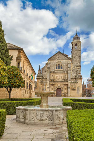 Renaissance Holy Chapel of the Saviou is considered a masterpiece in the region, Ubeda, Spain