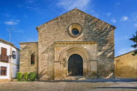 Church of Santa Cruz is one of the few churches with Romanesque style, Baeza, Spain