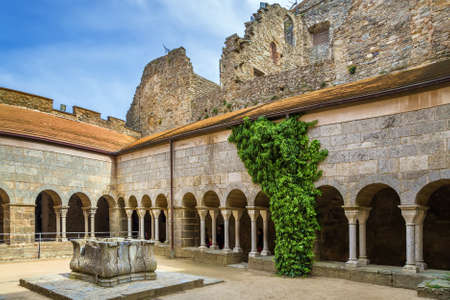 Sant Pere de Rodes is a former Benedictine monastery in the North East of Catalonia, Spain. Cloister