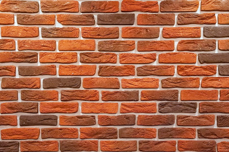 texture of wall from a red brick