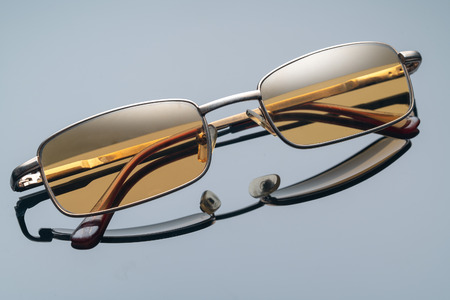 sunglasses with yellow glasses