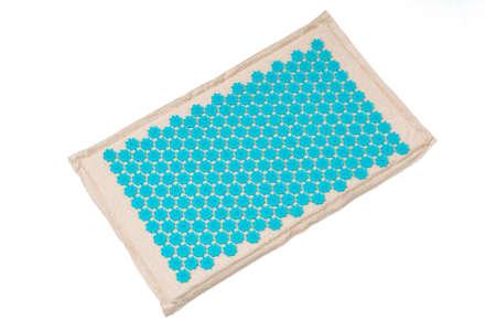 massage Mat, burlap Mat isolated on white background