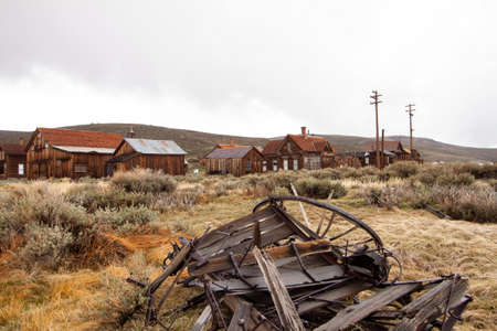 Tour of Bodie, a ghost town that attracted many criminals during the gold mining era and was finally abandoned around 1930.