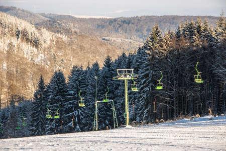 Ski lift in Biedenkopf