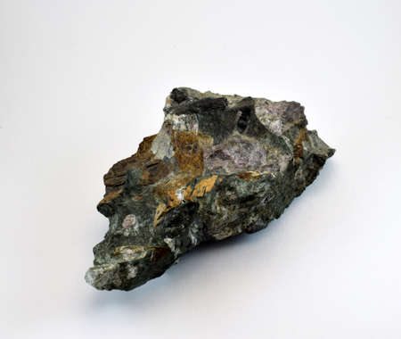 the mineral is mined in the mountains of khibiny stock photo