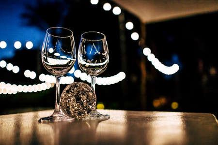 Kidush Glasess and Wedding glass in Jewish wedding.